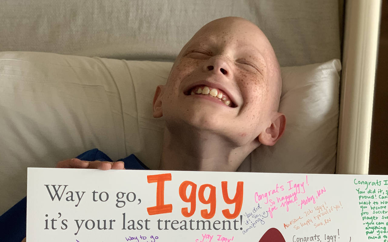 After Rhabdomyosarcoma Journey Iggy And Family Ready To Start New Chapter